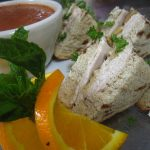 Turkey Cinnamon Tea Sandwich