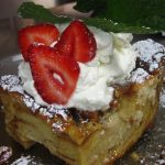 Wildflower Baked French Toast at Brunch