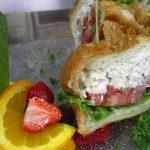 Tongol Tuna Salad Croissant